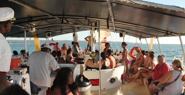 Party Catamaran Cruises in Negril, Jamaica | Island Charter